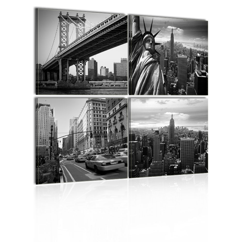 Quadro new york di stile ideacolor for Stanze in affitto new york manhattan